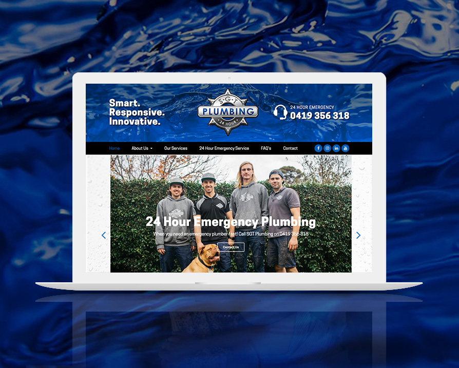 sgt-plumbing-website-design
