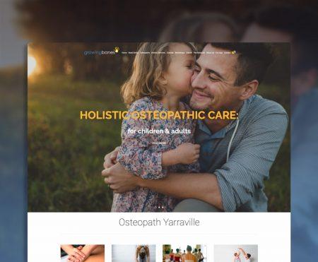 Growing-Bones-Website-Design-Geelong