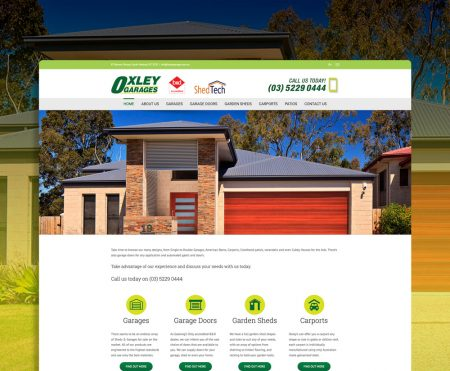 Oxley-Garages-Website-Design-Geelong